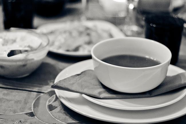 Polish Christmas Eve - mushroom soup