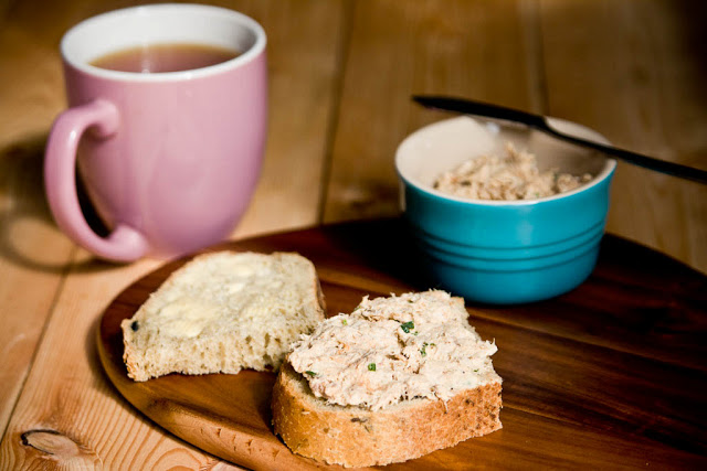 Smoked mackerel spread