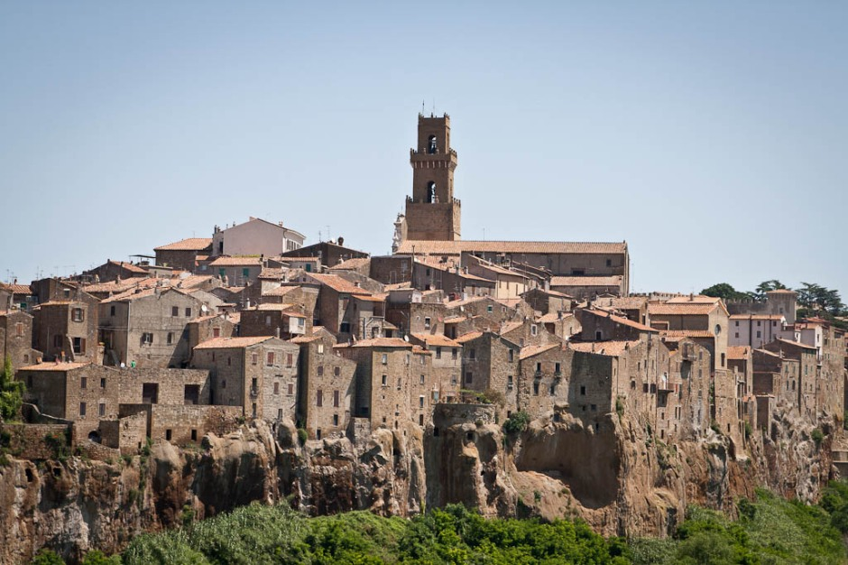 Pitigliano, the little Jerusalem in Tuscany