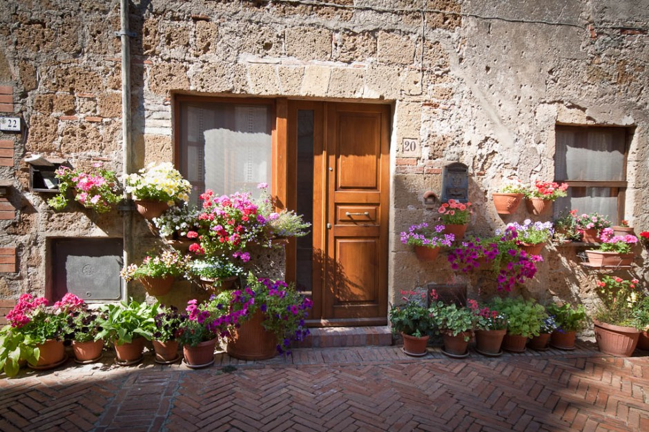 Tuscany - House flowers
