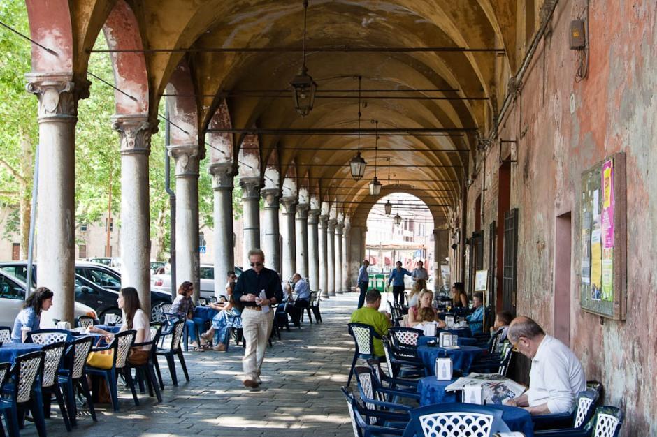 Ferrara - Cafes in Italy