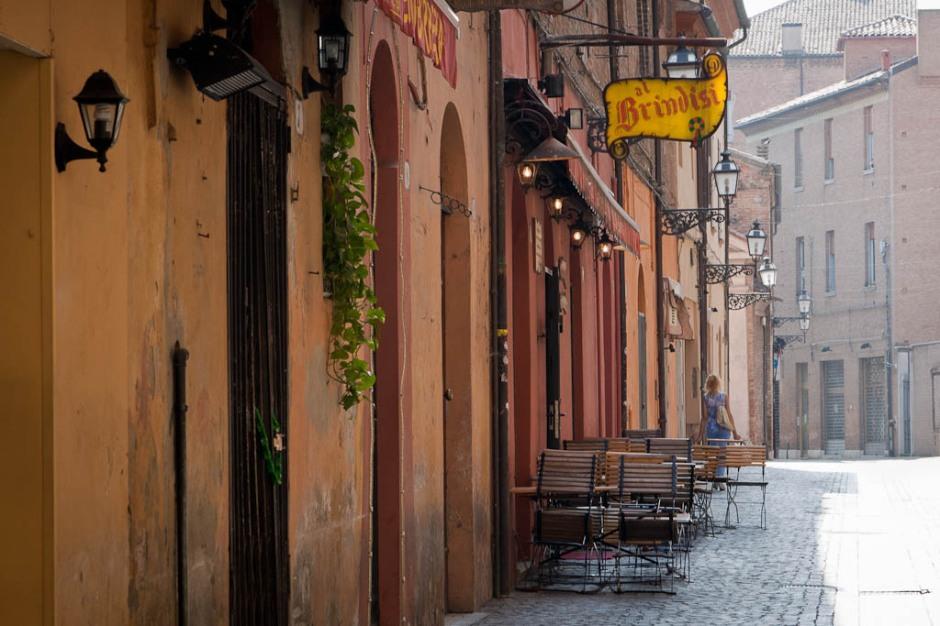 Street in Ferrara