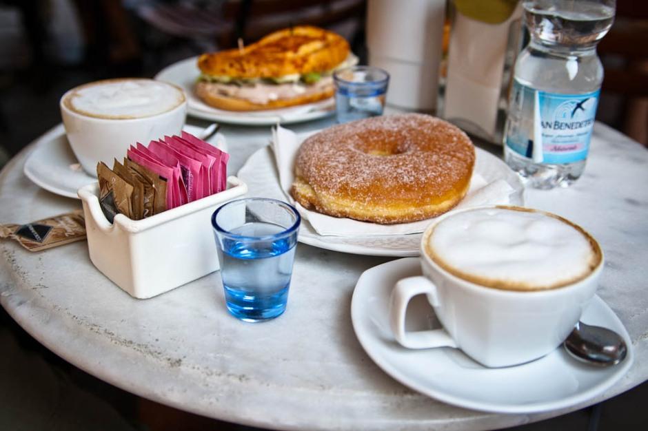 Italian Breakfast in Ferrara