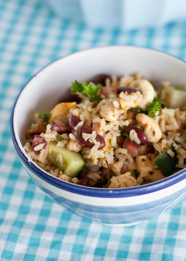 Indian rice salad with chicken magdas cauldron forumfinder Gallery