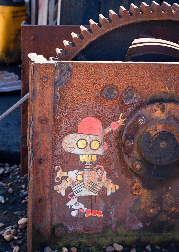 robot in Dungeness