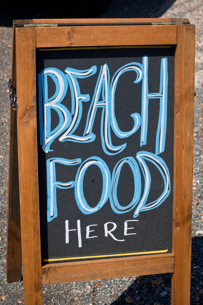 Dungeness Beach Food