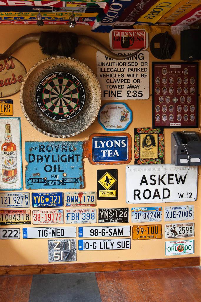 pub in Inisheer (Arran Islands)
