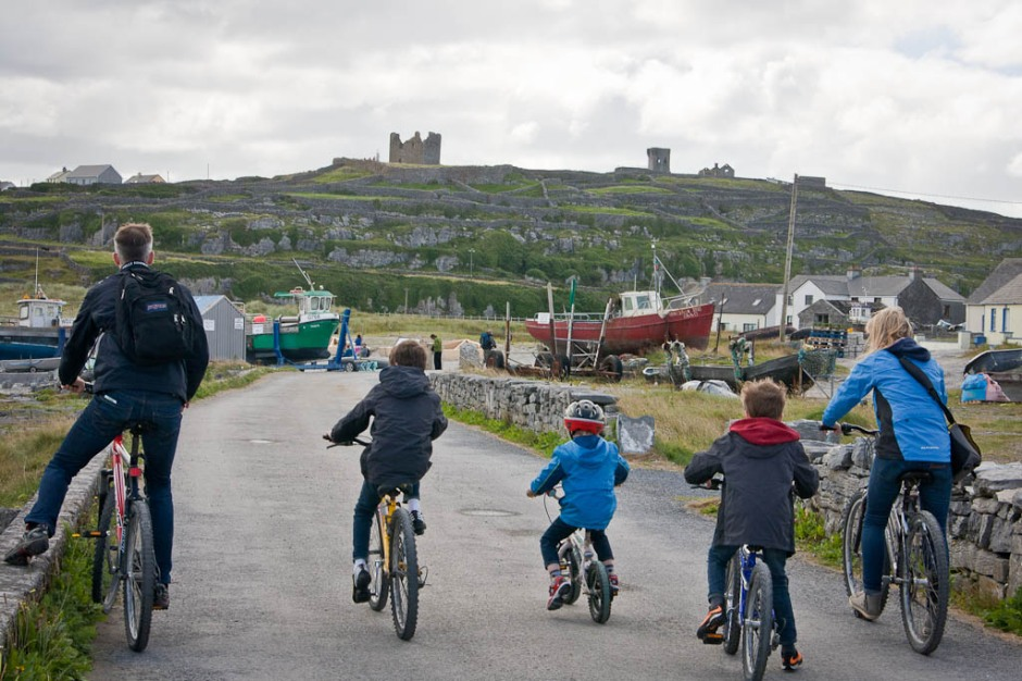 bicycles in Inisheer (Arran Islands)