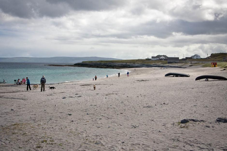 sea in Inisheer (Arran Islands)