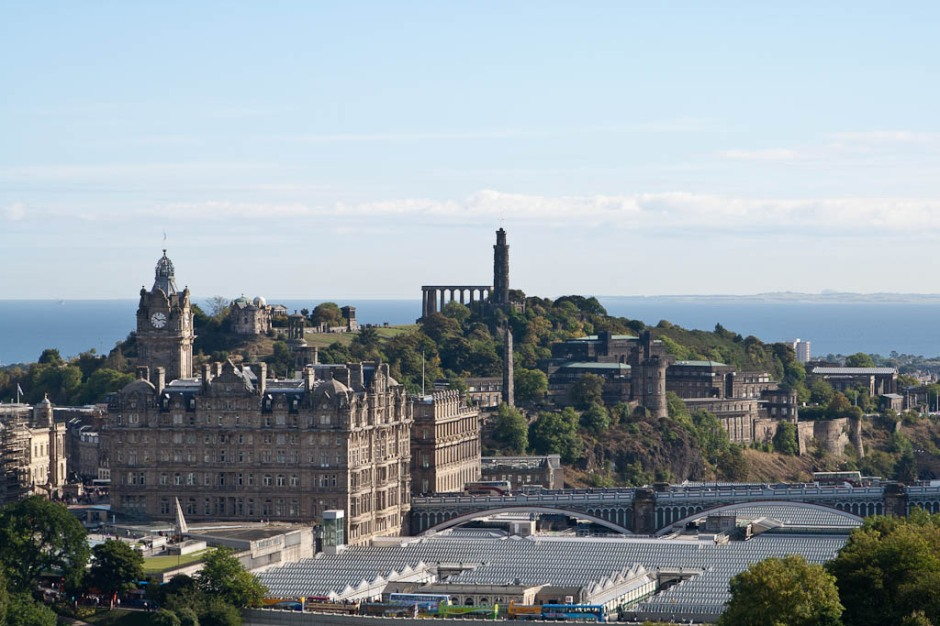 Edinburgh - view from the castle