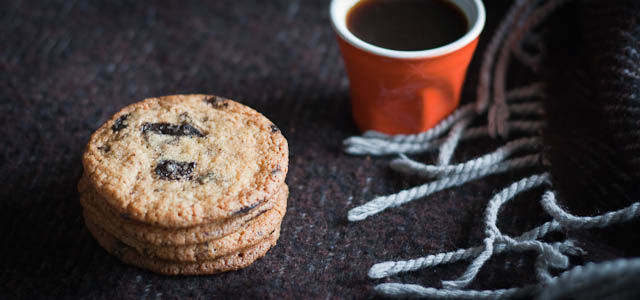 Ten-minute chocolate chip cookies