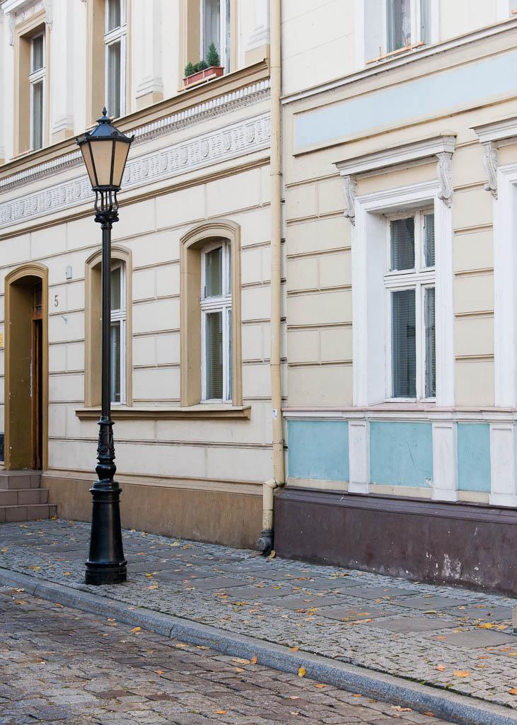 Wałcz - street lamp