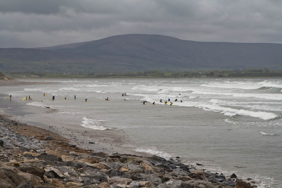 Strandhill surfers beach - Sligo