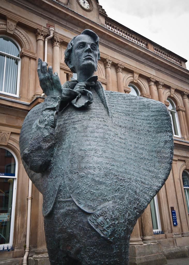 sligo yeats statue