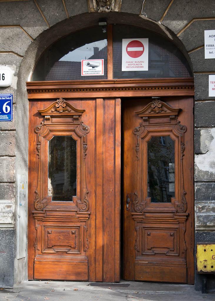 Szczecin Wooden Door