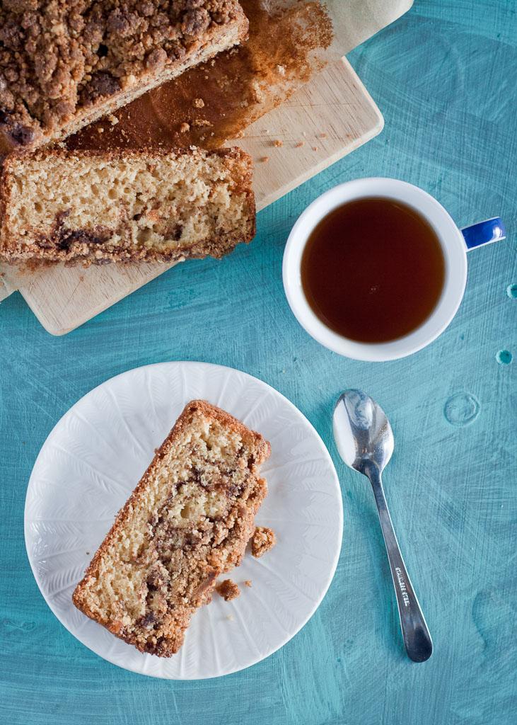 Cinnamon swirl cake - Magda's Cauldron