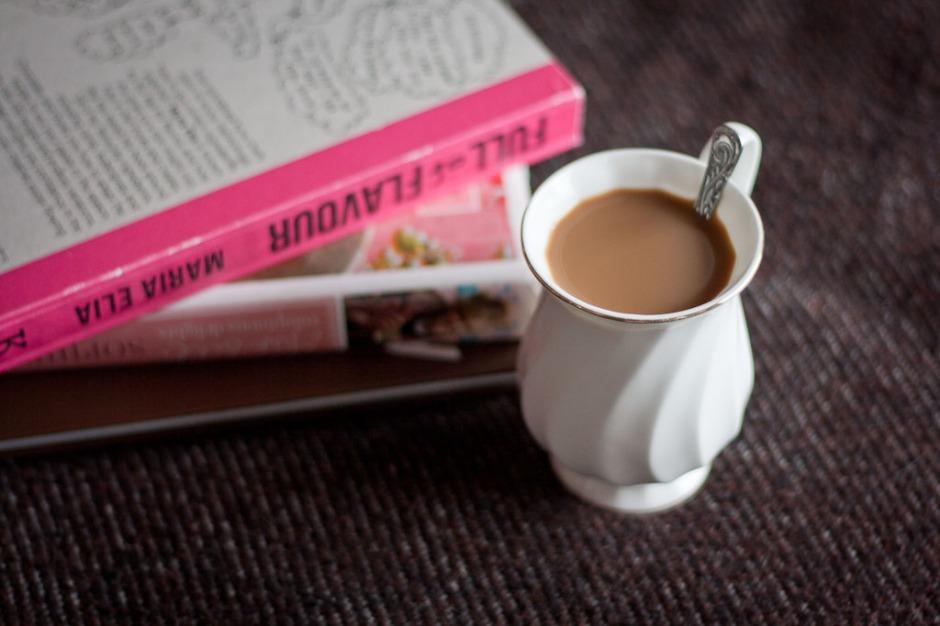 coffee and books - Magda's Cauldron