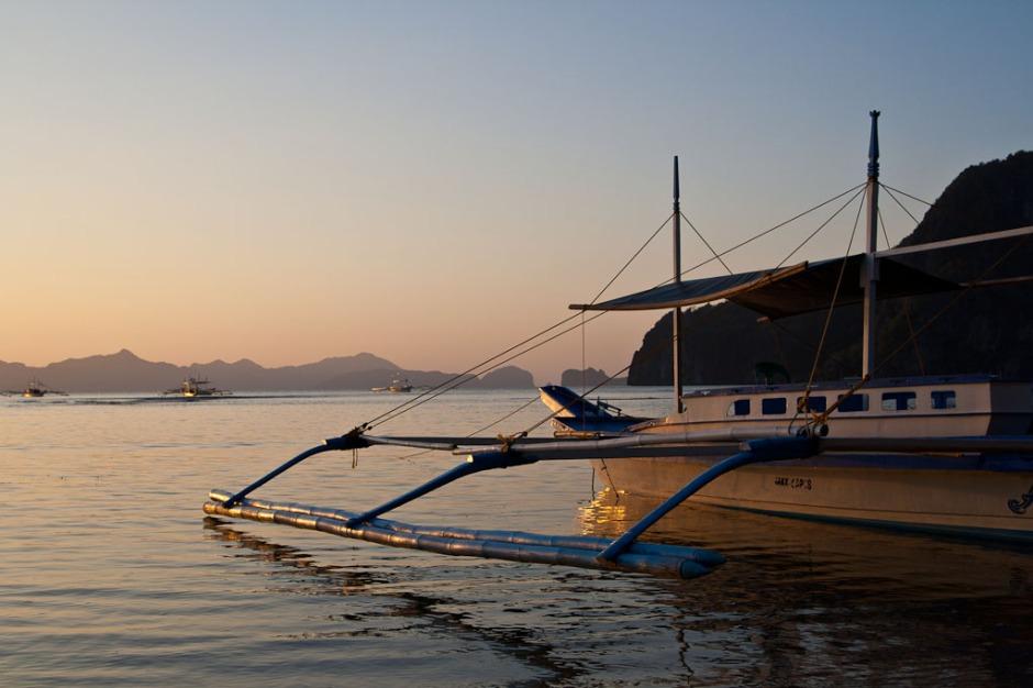 el nido sunset boat