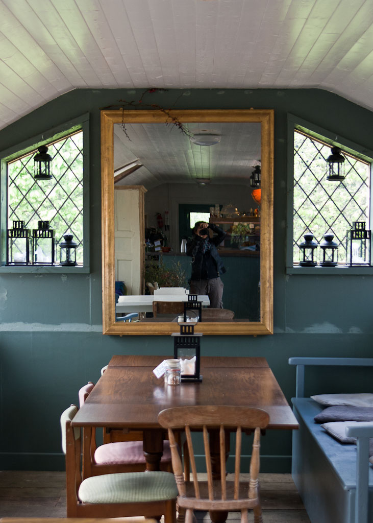 Altamont Garden - cafe
