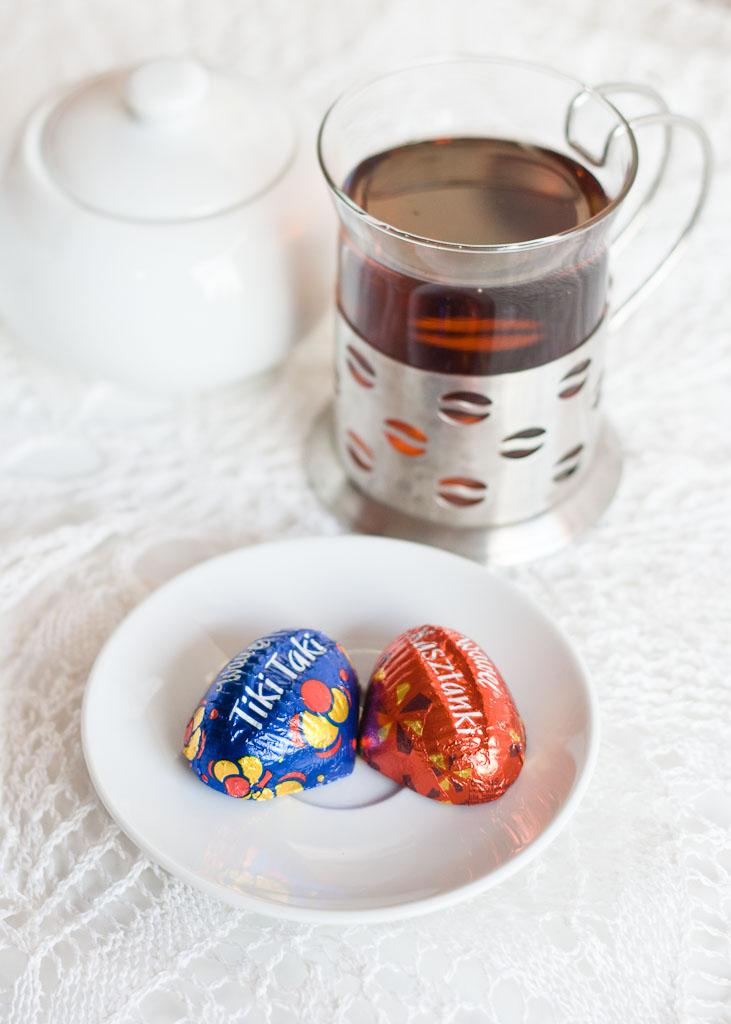 Polish sweets - Kasztanki and Tiki Taki