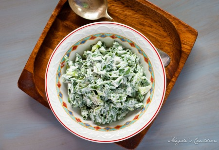 green onion salad