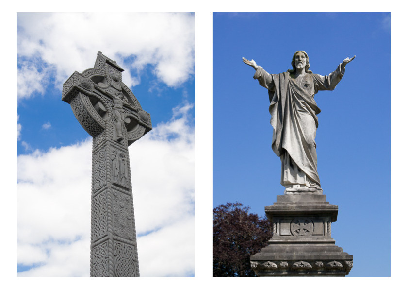 Glasnevin Cemetery - sculptures