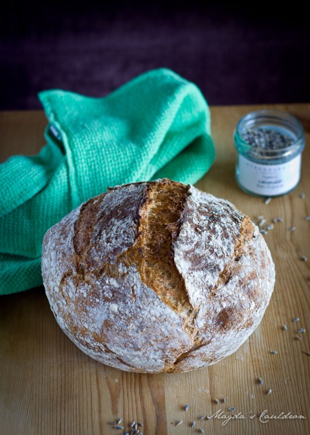 lavender and honey bread