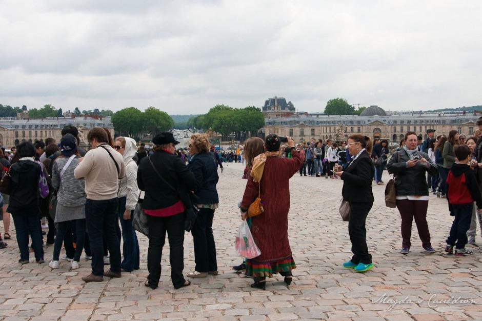 Versaille - the queue