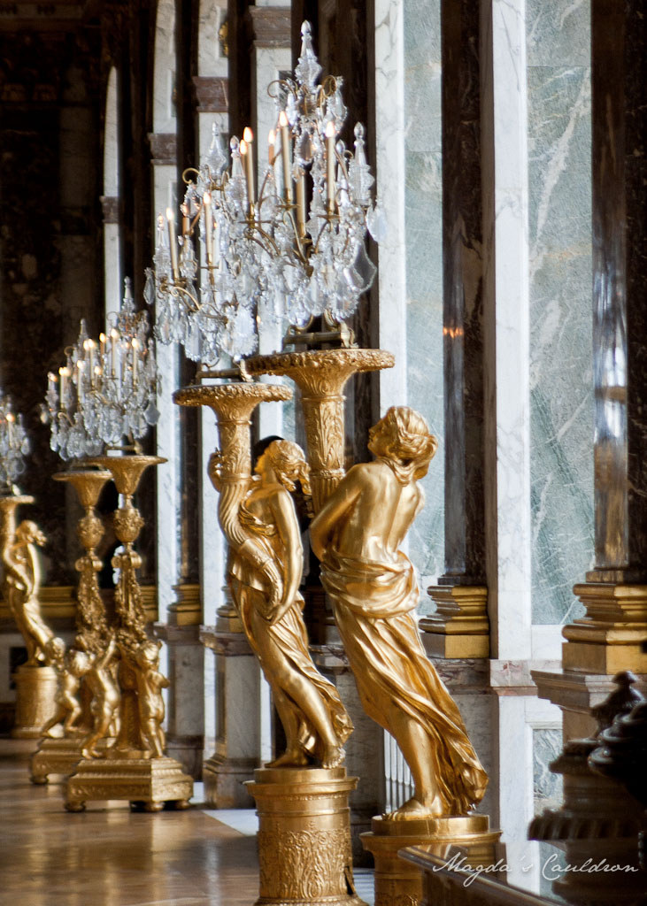 Versaille the Hall of Mirrors