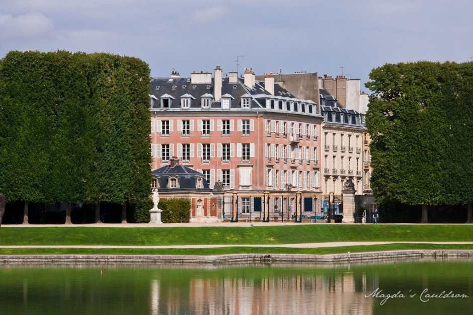 Versaille - view from the park
