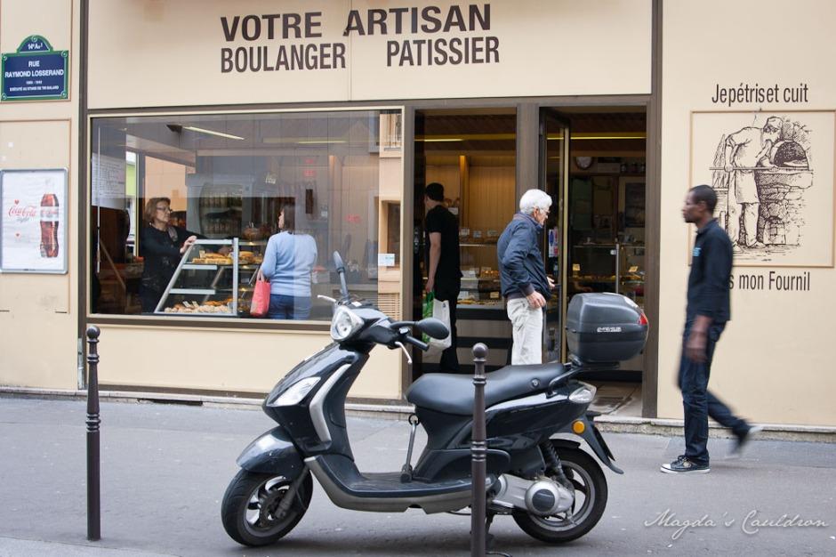 Paris - boulangerie