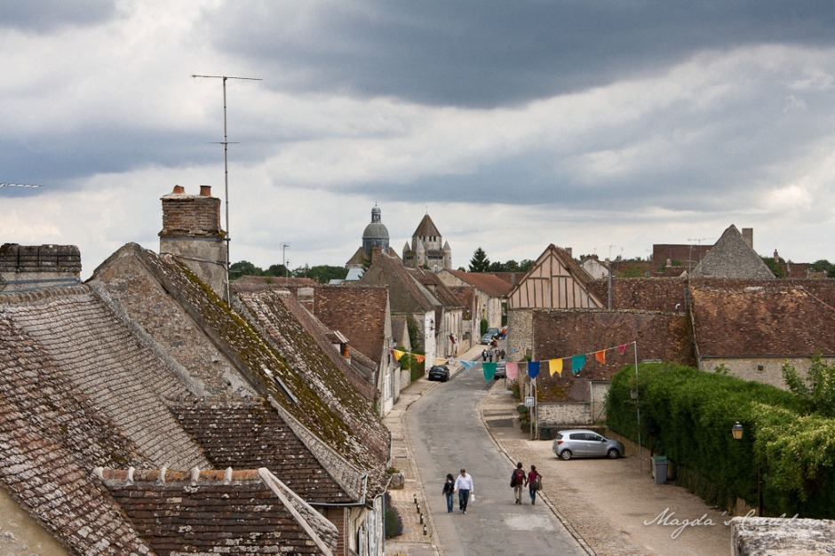 Provins - view over the city