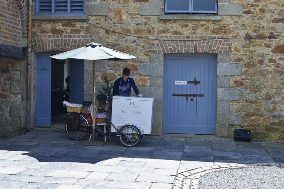Killruddery House - Ice Cream Stall