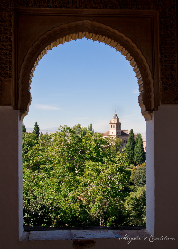 Alhabra, Granada, Spain - the window