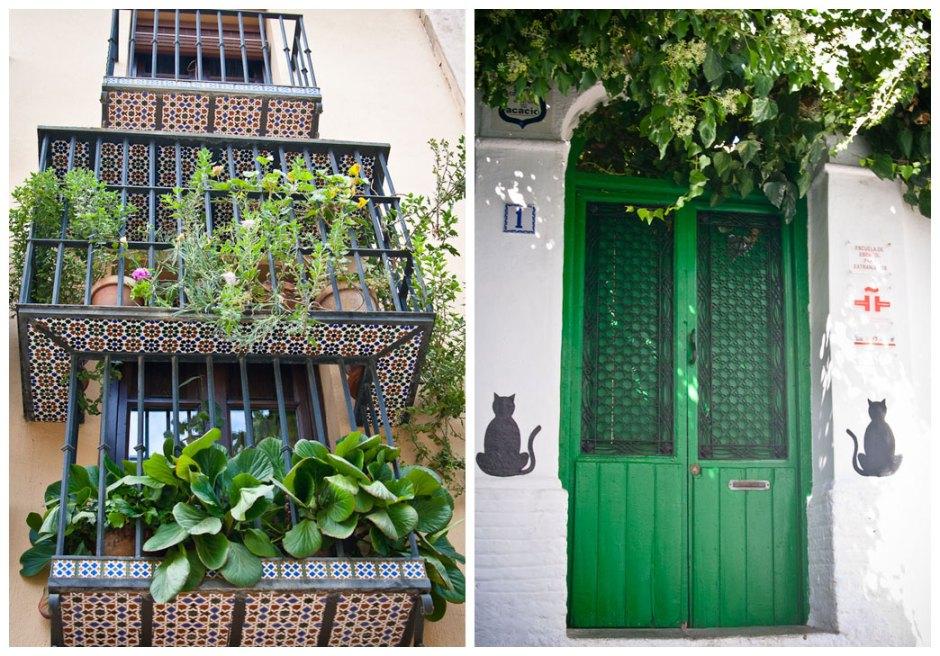 Granada - doors and balconies