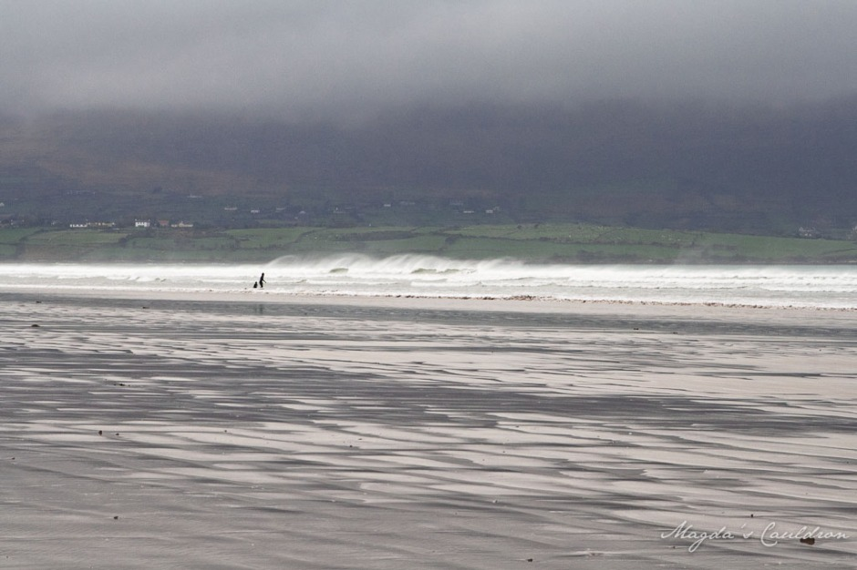 Surfing in Kerry - Aughacasla
