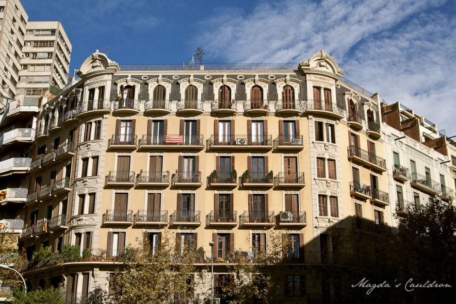 building in Barcelona