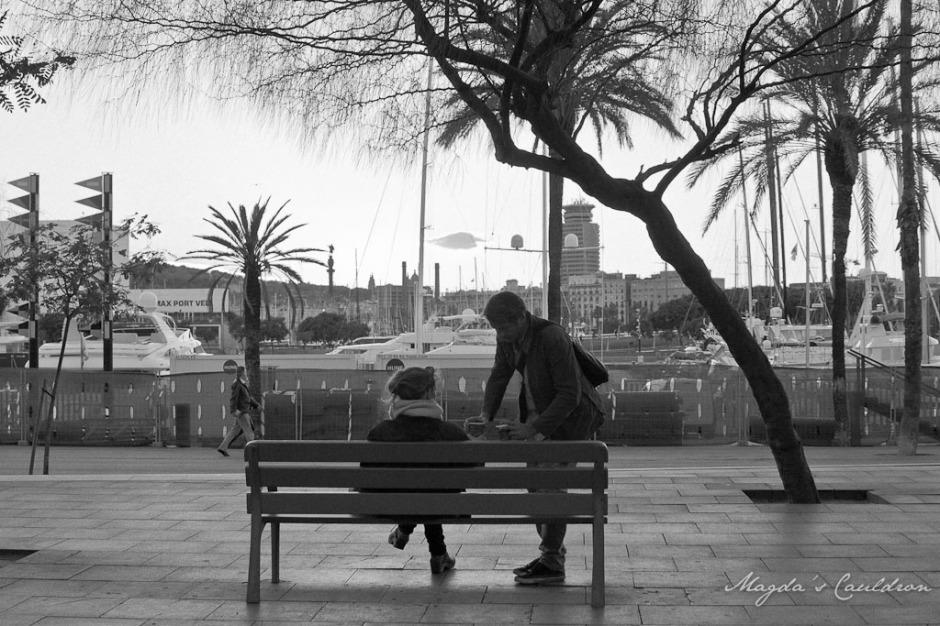 couple in Barcelona