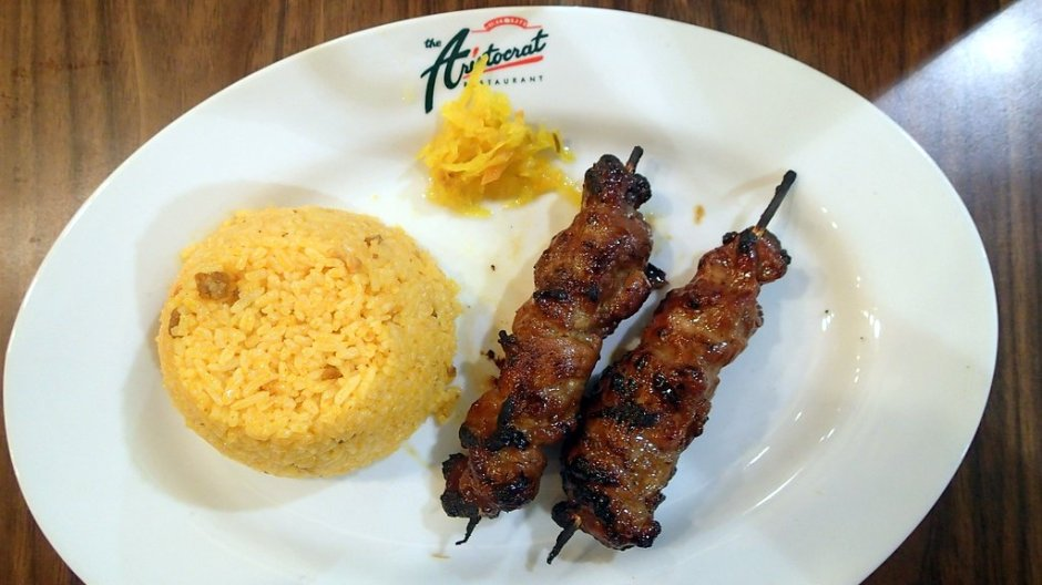 Aristocrat - Pork Barbecue with Java rice