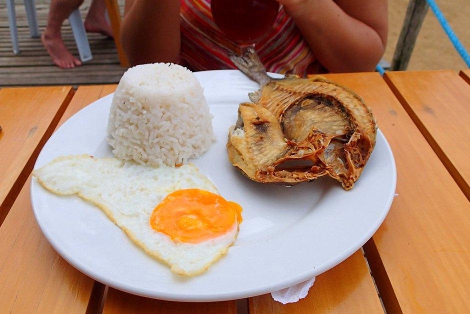 Filipino breakfast - daing na bangus