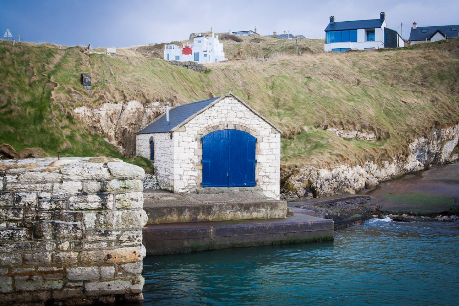 Pyke, The Iron Islands, Ballintoy Harbour, Co. Antrim