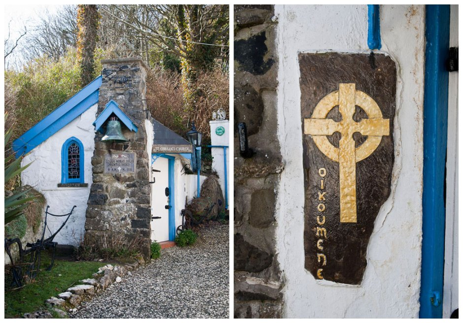Saint Gobban's Church, Portbradden, smallest church in Ireland