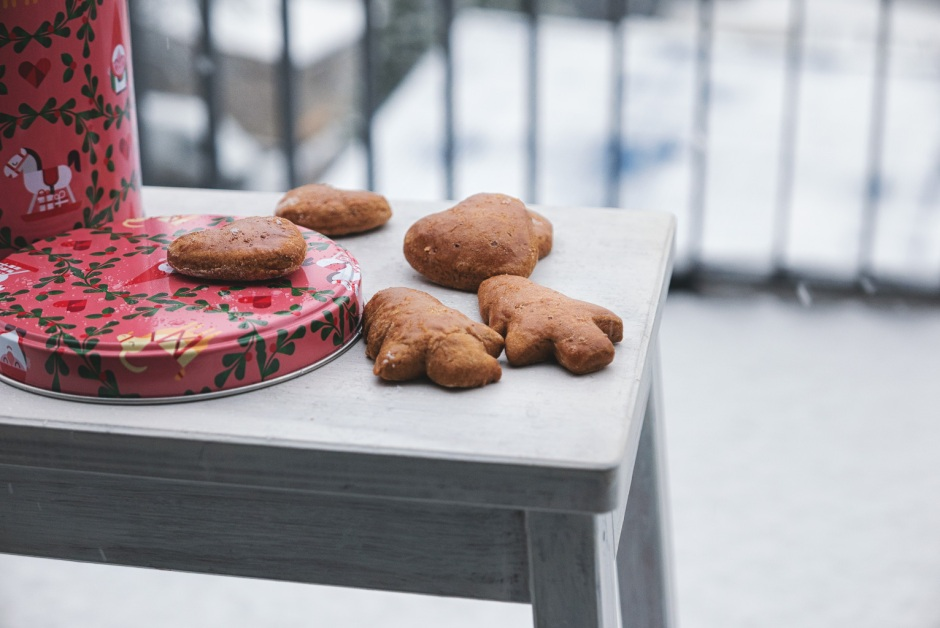Polish Alpine gingerbread cookies (pierniczki jak alpejskie)