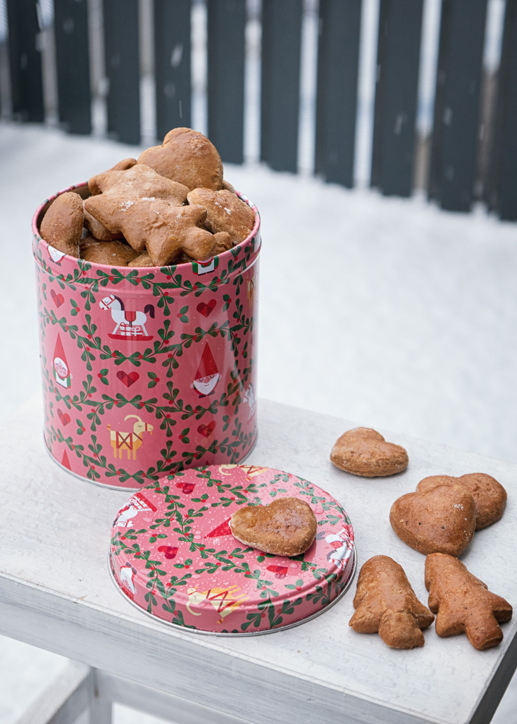 Alpine Polish gingerbread cookies