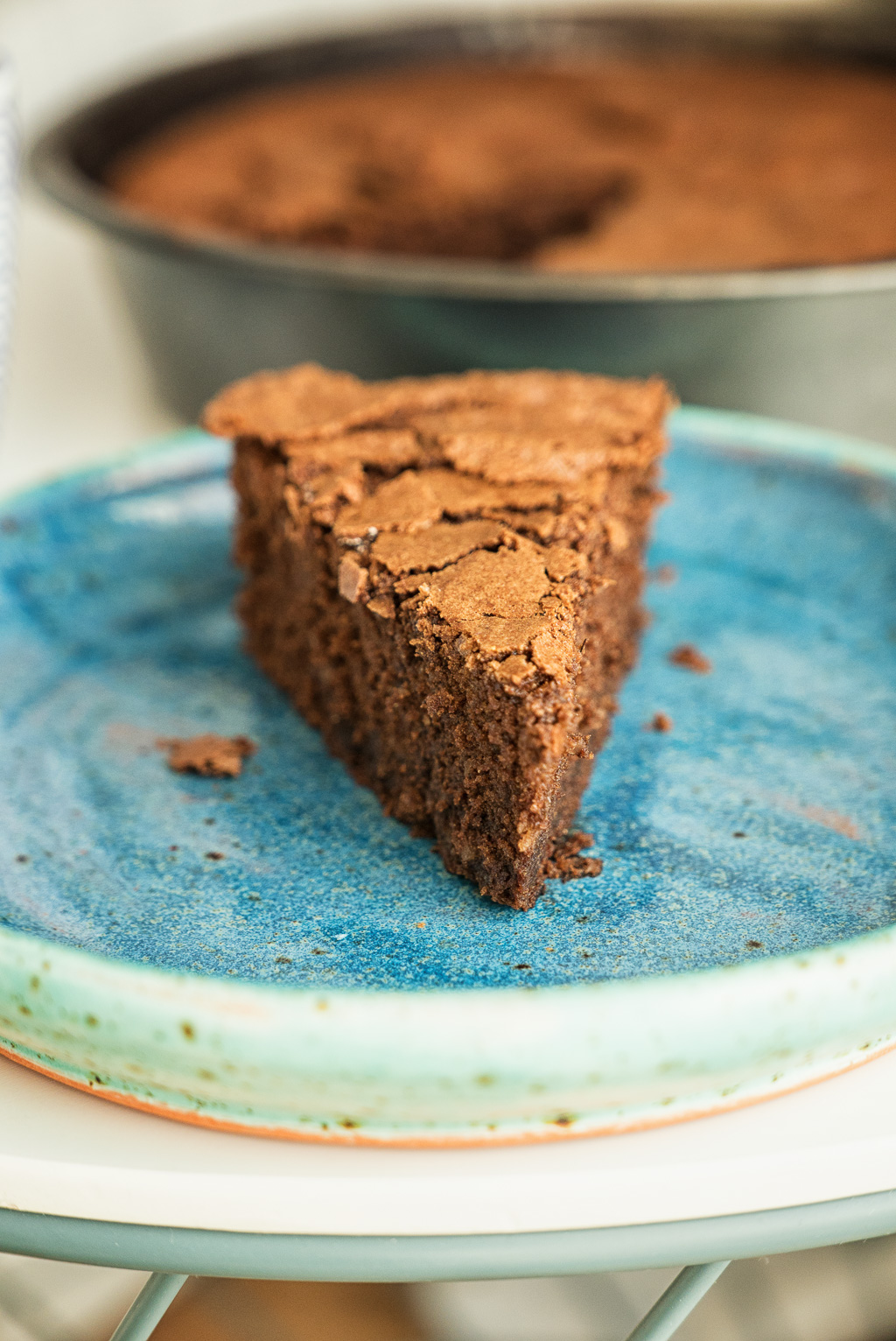 buckwheat chocolate cake